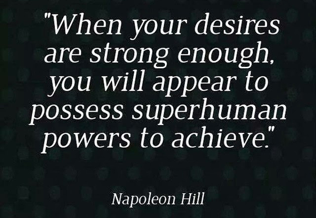 quote napolean hill